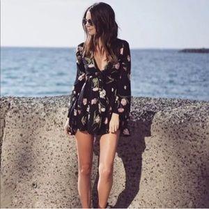 Flynn Skye — London Mini Dress, Night Bloom